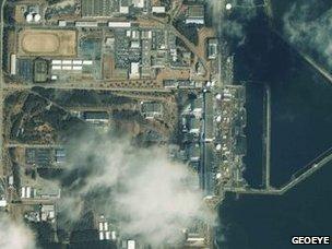 Fukushima nuclear power complex