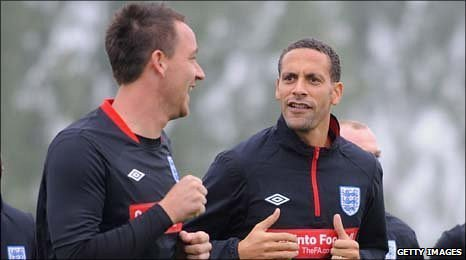 John Terry and Rio Ferdinand