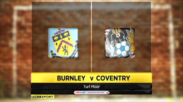 Burnley 2-2 Coventry