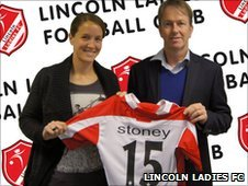 Casey Stoney and Rod Wilson