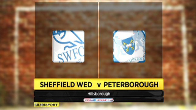 Sheff Wed 1-4 Peterborough