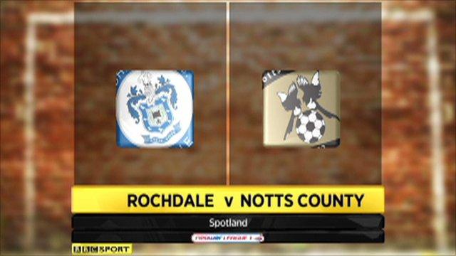 Rochdale 1-0 Notts County