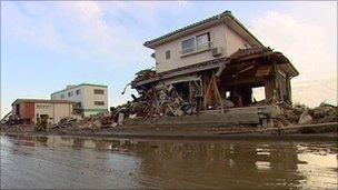 Tatsuya Suzuki's relative's house, Natori