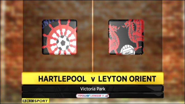 Hartlepool 0-1 Leyton Orient