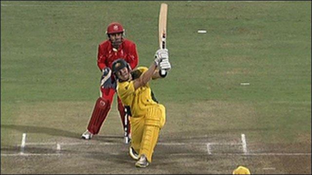 Australia's Shane Watson
