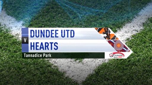 Dundee United v Hearts