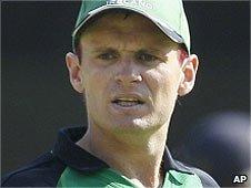 Ireland cricket captain William Porterfield