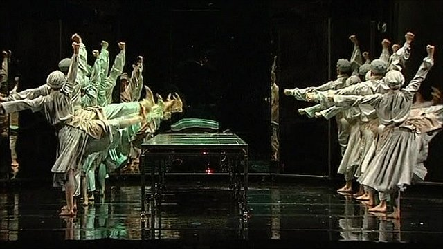 The Sadler's Wells dancers
