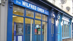 Wilfred Owen museum