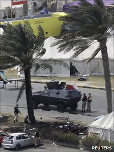 Gulf Co-operation Council troops in manama - 16 March