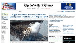 NY Times to charge for full Internet access