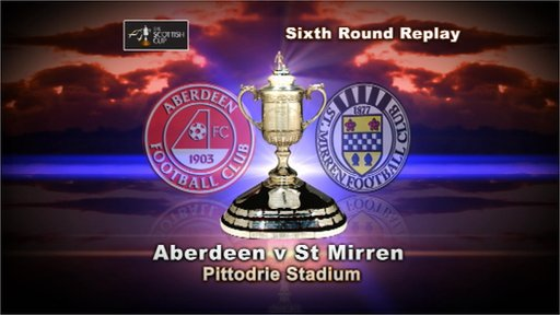 Scottish Cup highlights - Aberdeen 2-1 St Mirren