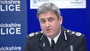 Warwickshire Police chief constable Keith Bristow