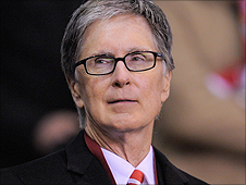 Liverpool supremo John Henry was at Anfield as the Merseysders made their Europa League exit