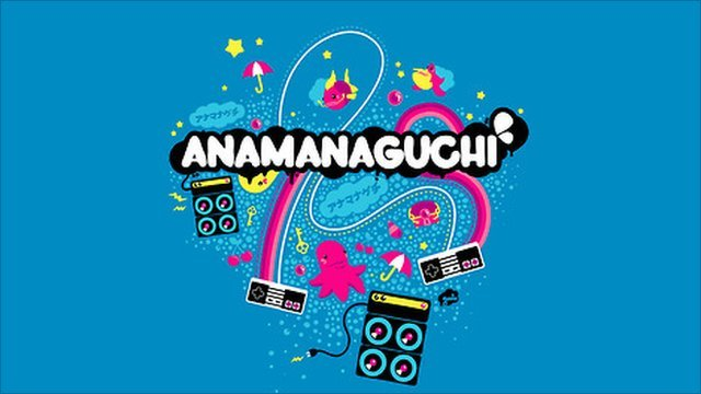 The Anamanaguchi logo