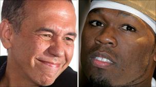 Gilbert Gottfried and 50 Cent