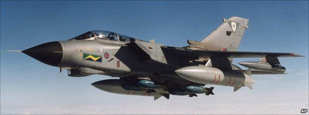 Tornado GR4 of the Royal Air Force