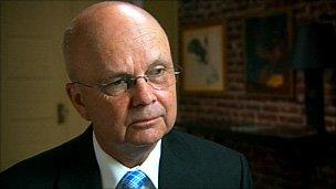 Former director of the CIA Gen Michael Hayden