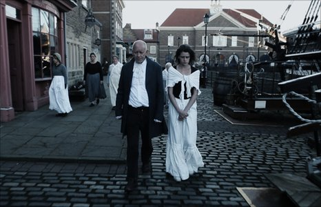 A screen shot from the film