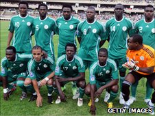 Nigeri's Super eagles