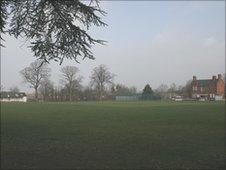 Cricket ground at Norton