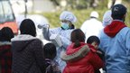 Residents evacuated from areas surrounding the Fukushima nuclear facilities