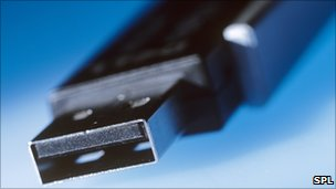 USB stick, SPL