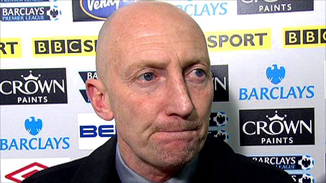 Blackpool boss Ian Holloway