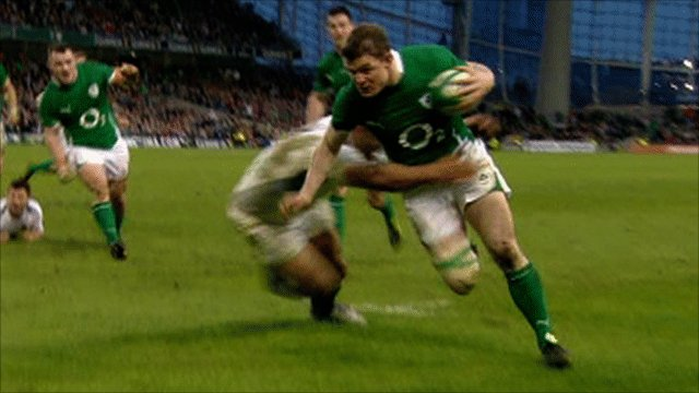 Legend Brian O&#039;Driscoll breaks Championship try record