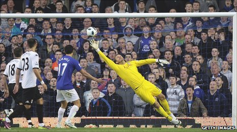 Seamus Coleman nods in the opener for Everton