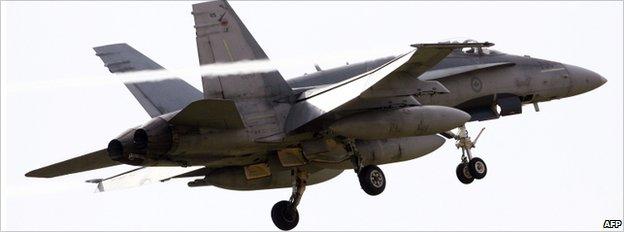 FC Forces armées canadiennes-18 Hornet