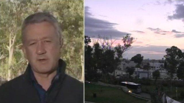The BBC's Allan Little in Tripoli