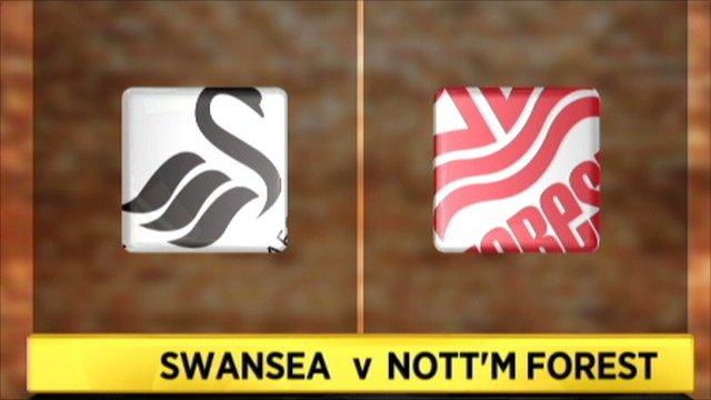 Swansea 3-2 Nott'm Forest