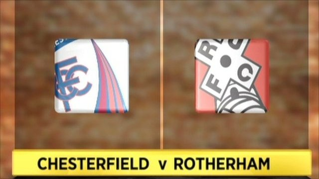 Highlights - Chesterfield 5-0 Rotherham
