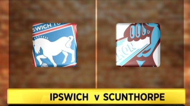 Ipswich 2-0 Scunthorpe