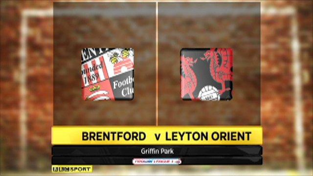 Brentford 2-1 Leyton Orient