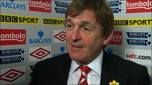Liverpool deserved win at Sunderland - Kenny Dalglish