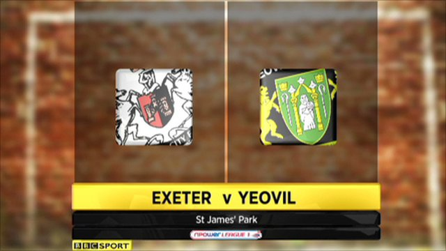 Exeter 2-3 Yeovil