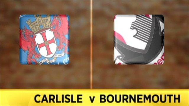 Carlisle 1-0 Bournemouth