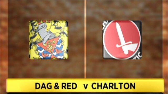 Dag & Red 2-1 Charlton