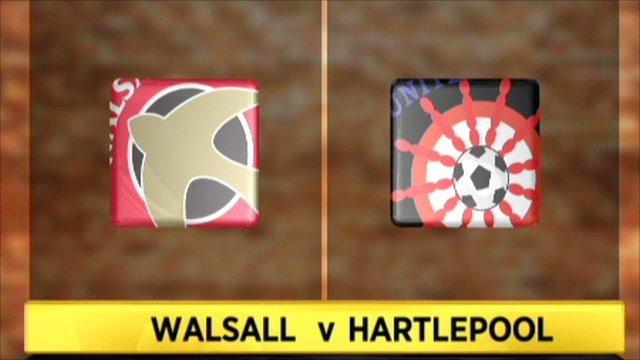 Walsall 5-2 Hartlepool
