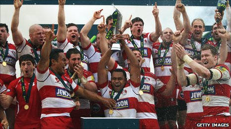 Gloucester with the LV= Cup