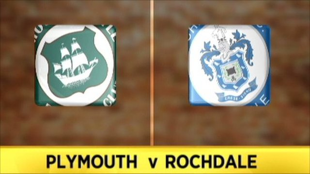 Plymouth 0-1 Rochdale