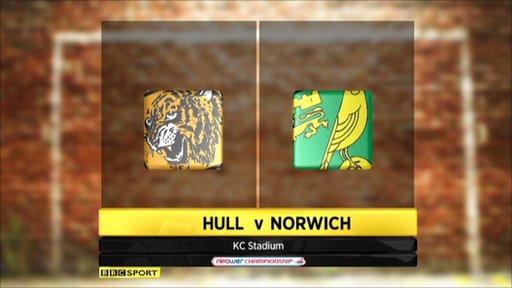 Highlights - Hull v Norwich