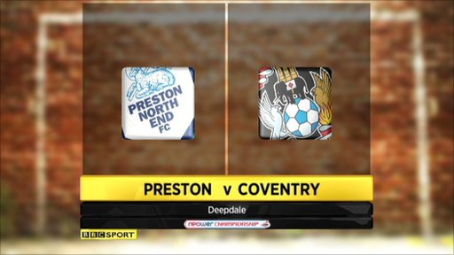 Highlights - Preston v Coventry