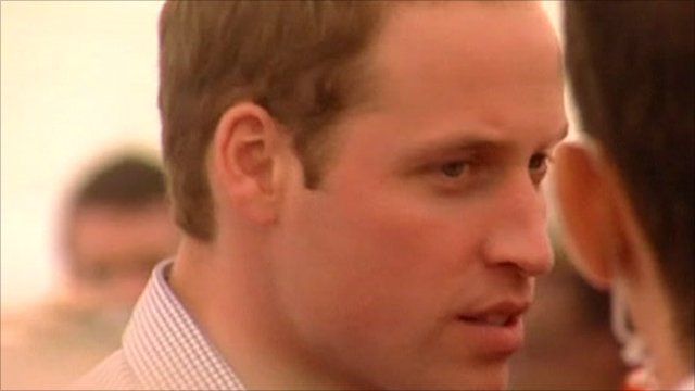 prince william australia 2011. Prince William meets