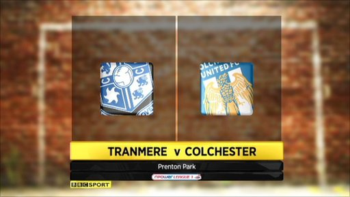Highlights - Tranmere v Colchester