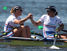 Anne Watkins and Katherine Grainger