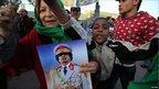 Pro-Gaddafi rally in Tripoli