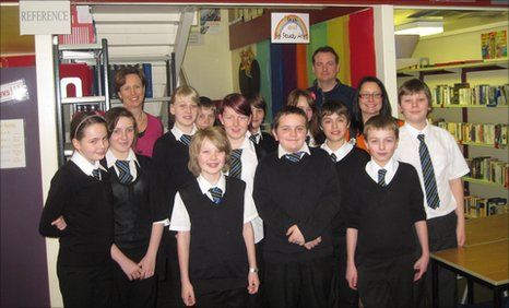 Blairgowrie High School pupils who are taking part in this year's School Report